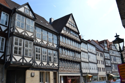 Historische Fassaden in der Altstadt