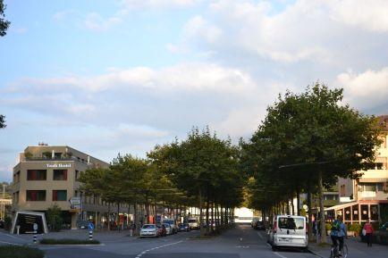 Straße zum Bahnhof