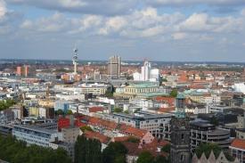 Blick in Richtung Oststadt