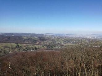 Blick von der Habsburgwarte