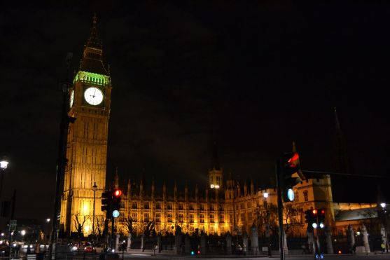 House of Parliament & Big Ben by night