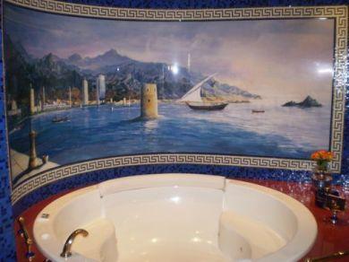 Ein Beispiel des Badezimmers
