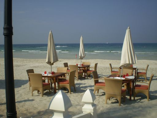 Strand von Ras Al Khaimah