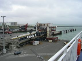 Fährhafen in Calais