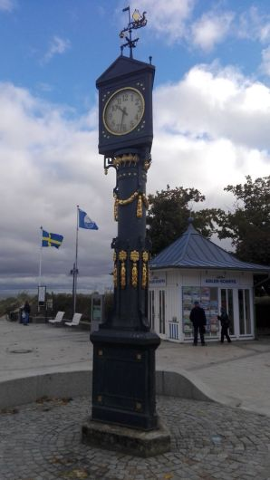 Historische Uhr in Ahlbeck