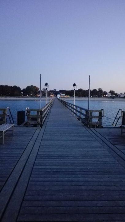Seebrücke in Lubmin