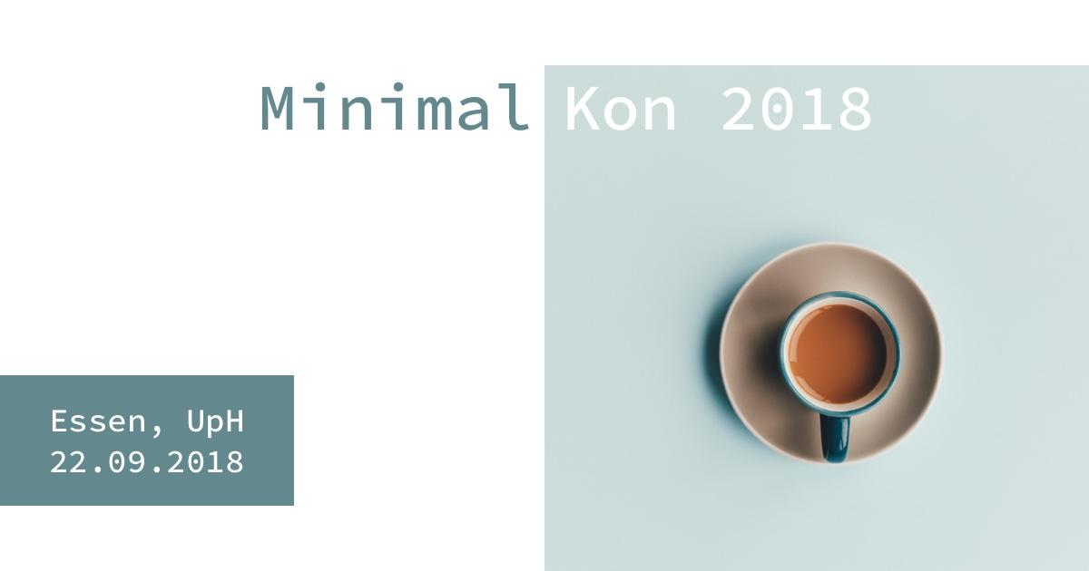 Minimalkon 2018