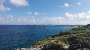Blick auf das Karibische Meer