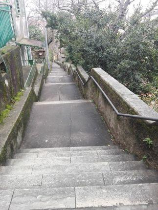 Treppe nach Trat