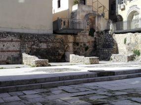 Fundamente und Ruinenreste von Tarsatica Principia