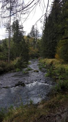 Flusswanderung