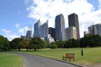 Skyline vom Park
