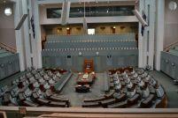 Parlament von innen