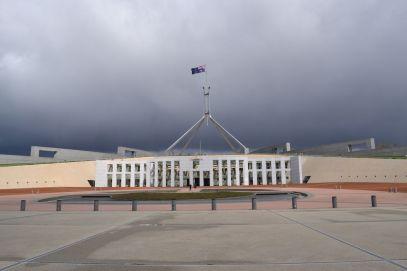 Parlament von außen