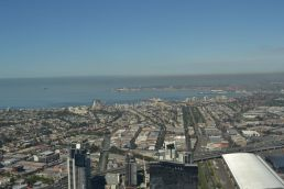 Blick vom Eureka Tower