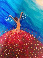 Tänzerin im Licht